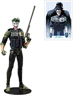"McFarlane DC 15407 Multiverse White Knight Joker Action Figure, 7"",Multicolor,15407-8"