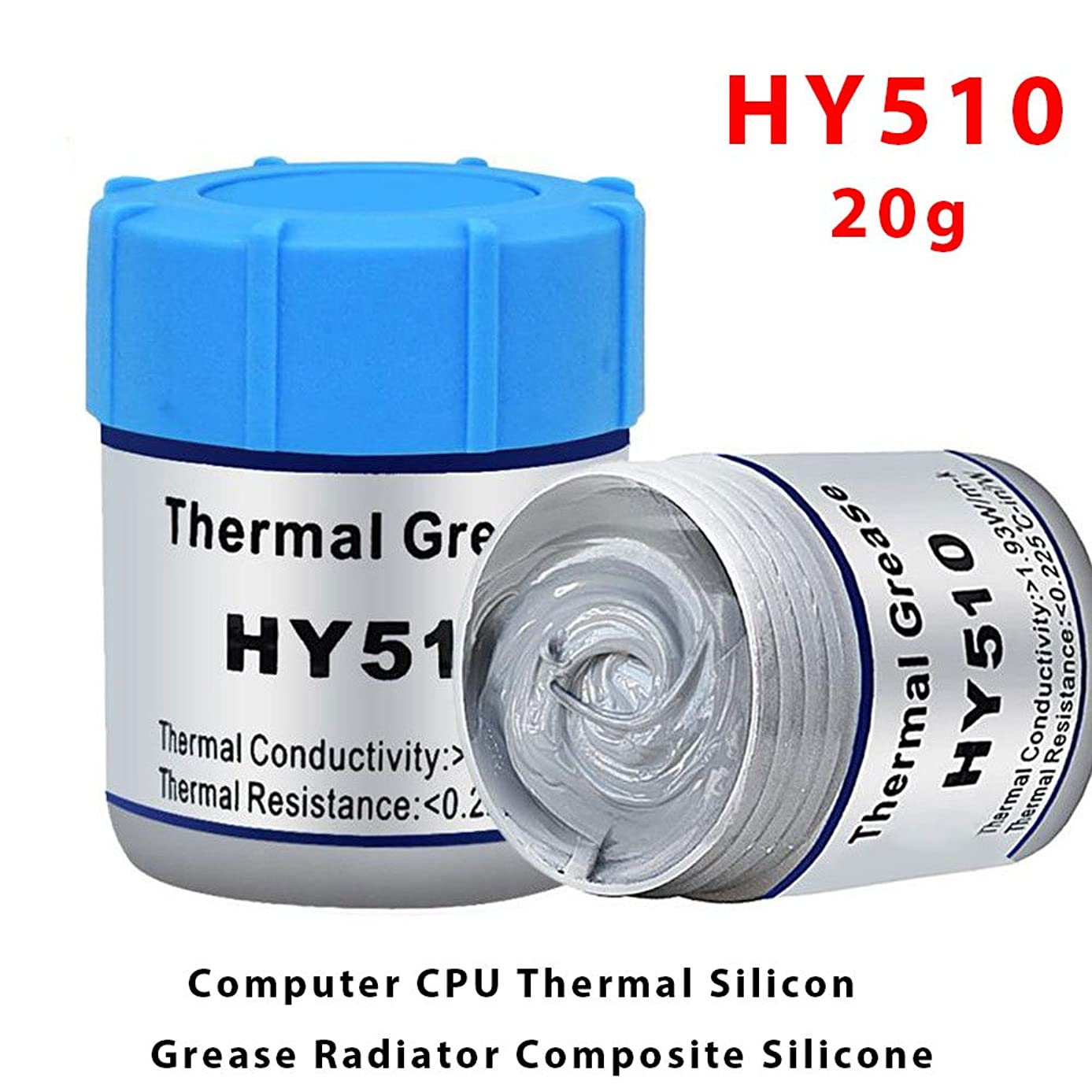 Conductive Silicone Grease Cooling Paste Cooler Heatsink CPU PC Temperature Resistant Gray Silicone