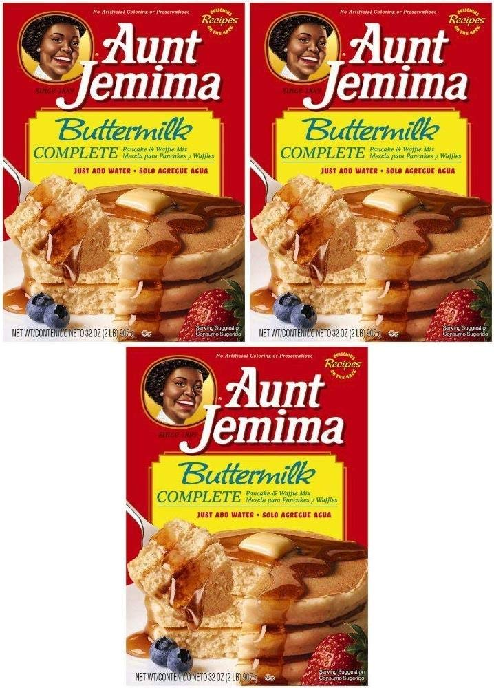 Aunt Jemima Complete Pancake Mix Buttermilk 2 32-ounce Discount mail Topics on TV order Boxes B