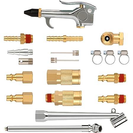 dailymall Air Blower Accessory Kit 4 Piece Air Compressor Tool Kits