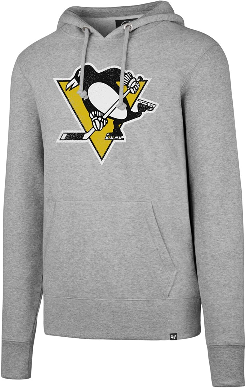 Hoody Headline Brand 47 NHL grau Penguins Pittsburgh