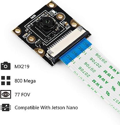 SainSmart IMX219 AI Camera Module for NVIDIA Jetson Nano Board 8MP Sensor 85 Degree FoV - Trova i prezzi più bassi