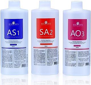 محلول حباب کوچک AS1 SA2 AO3 ، محلول لایه بردار Aqua Peeling Beauty Face 3x400ml ، محلول دستگاه Hydrafacial برای تمیز کردن صورت و مراقبت های بهداشتی
