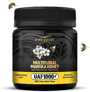 New Zealand Wild Multifloral Manuka Honey UAF1000+, Cold & Flu Relief, Immune Support, Prebiotic, Improves Digestion, Supe...