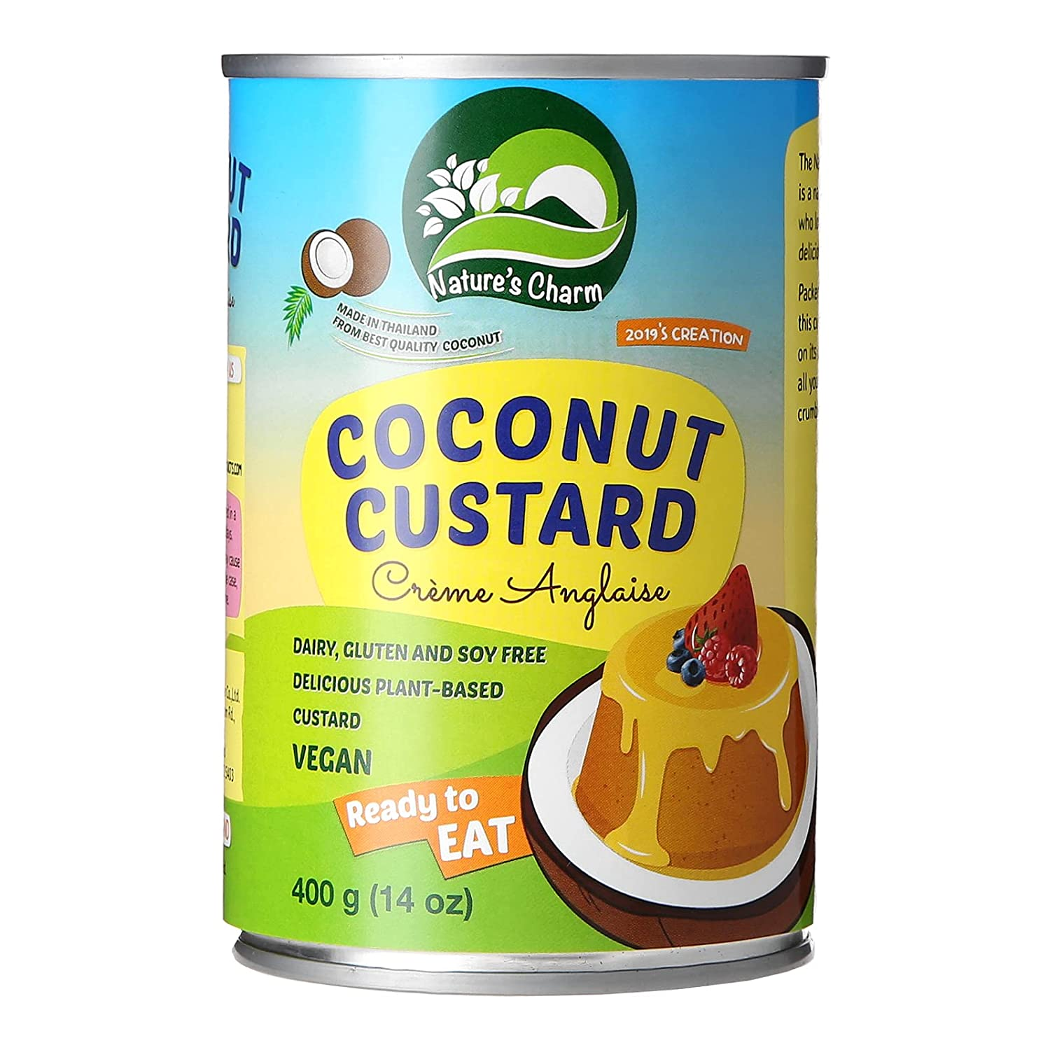 Nature's Charm Coconut Custard 14 of Pack Ranking Dallas Mall TOP17 6 ounce