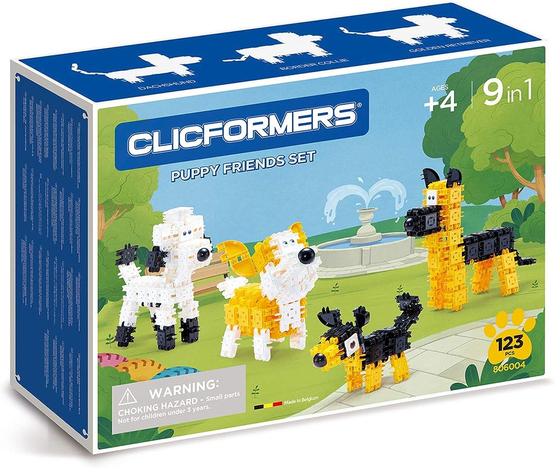 Clicformers 806004 Hündchen Set, Multicolor