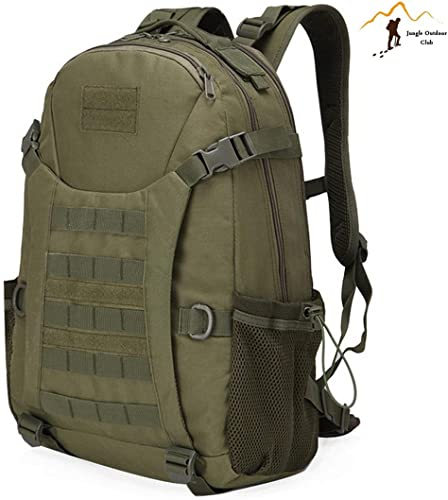 Jungle Oxford NEUF Top 511Sac à dos d'extérieur Voyage Sac à dos Molle gros Sac de sacs de camouflage tactique poches Wild Sac à dos randonnée escalade Sac à dos, Armyvert