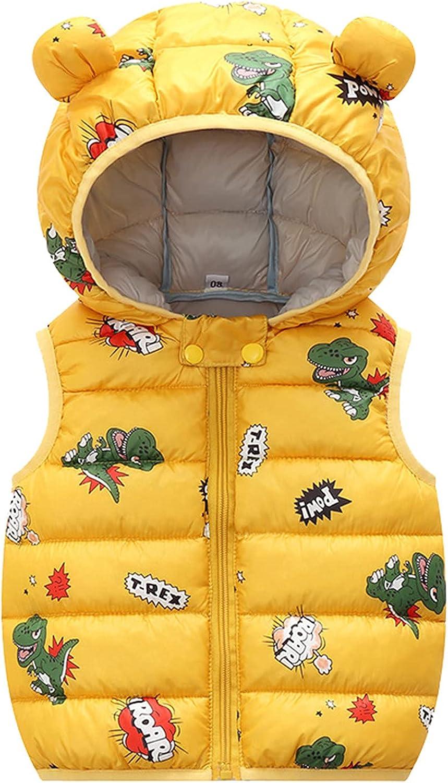 Girls Boys Puffer Vest Toddler Sleeveless Warm Little online shop Baby Kids Rare