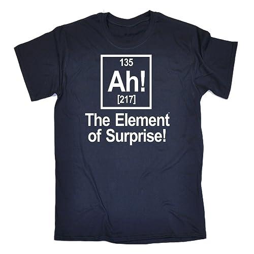 f5d788a3d 123t Men's - AH ELEMENT OF SURPRISE - Loose Fit T-shirt