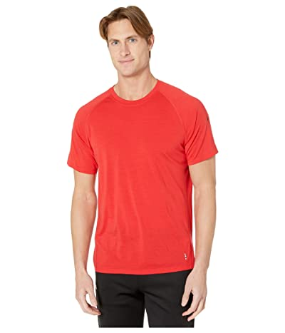 Smartwool Merino 150 Baselayer Short Sleeve (Cardinal Red) Men