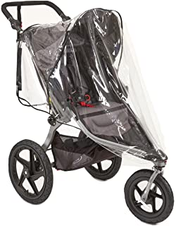 Sasha's Rain and Wind Cover for Baby Jogger City Mini/City Mini GT and Bob Revolution Jogger Strollers