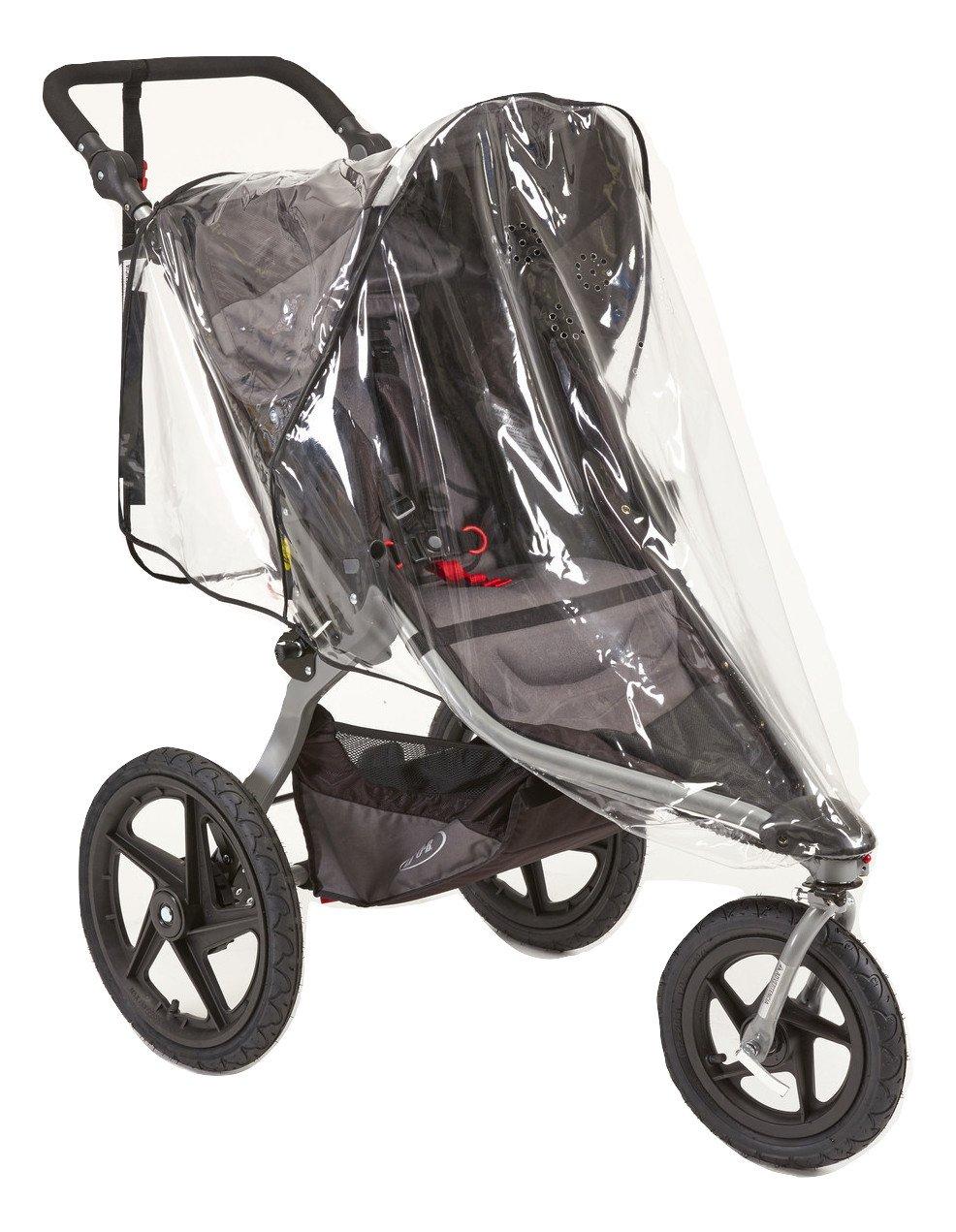 Sasha's Rain and Wind Cover for Baby Jogger City Mini/ City Mini GT and Bob Revolution Jogger Strollers