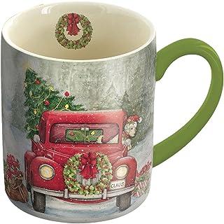 Lang Santa's Truck Mug by Susan Winget, 14 oz., Multicolored