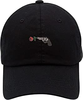 TOP LEVEL APPAREL Guns N Roses Logo Low Profile Embroidered Unisex Baseball Dad Hat