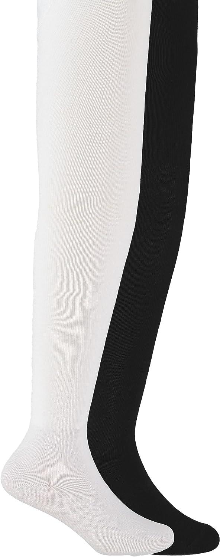 Trimfit Tights M 7 -10 2 pair fashion gray pink cotton polyester spandex girls