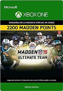 Madden NFL 15: 2200 Points   Xbox One - Código de descarga