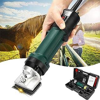 XDXDO Tondeuses à Cheval, 690W Heavy Duty Professional Horse Clippers Equine Tondeuse pour chèvre équine chèvre bovins de ...