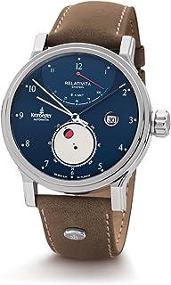 Kronsegler - Reloj automático Relativity de Einstein, acero azul