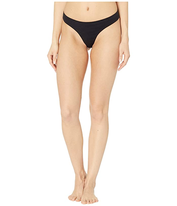 Smartwool Merino Seamless Thong (Black) Women