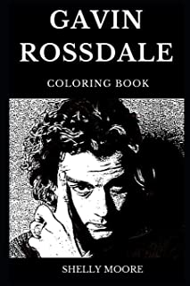 Gavin Rossdale Coloring Book: Legendary Bush Mastermind and Famous Heavy Metal Vocalist, Iconic Musician and Rock Idol Inspired Adult Coloring Book (Gavin Rossdale Books)