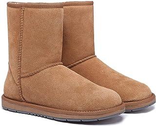 UGG Boots Unisex Short Classic Suede Australian Wool Women's Men's Winter Shoes Snow Boot Best Gifts