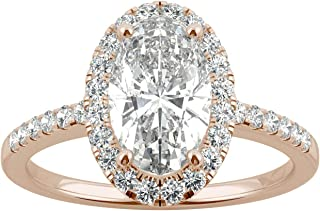 Best elongated oval moissanite Reviews
