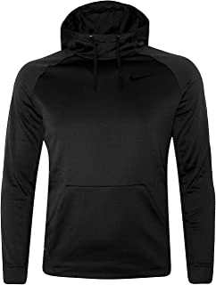 Nike Men's KO Therma-FIT Performance Athletic Hoodie Pullover Black