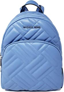Michael Kors Abbey MD Quilted Backpack French Blue