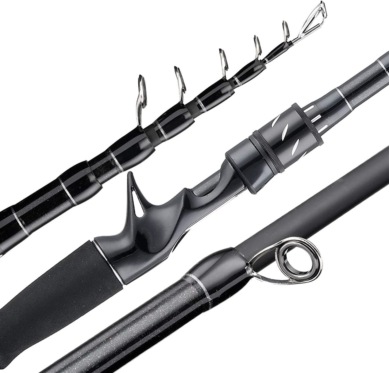 High quality new Telescopic Fishing Rod Carbon Lure Fi Large special price