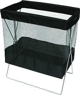 サキ バスケット ブラック Lサイズ メッシュタイプ