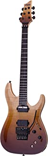 Schecter 6 String Solid-Body Electric Guitar, Antique Fade Burst (1358)