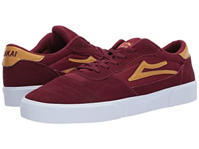 Lakai Cambridge (Burgundy Suede) Men