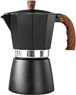 M/P Cafetera Moka Pot - Cafetera clásica de Aluminio para Espresso de Gran Sabor, Fuerte, fácil de operar, cafetera de Lim...