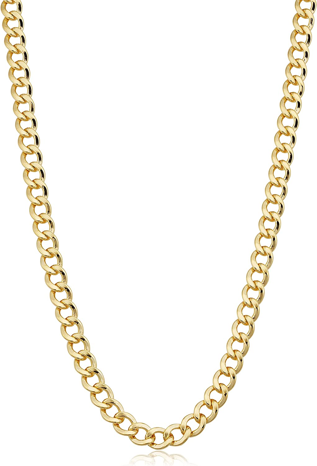 Solid sold out 14k Yellow Gold Filled Miami Chain for Necklace Curb Cuban Special Campaign