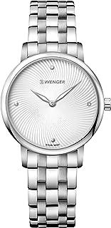 ساعة فينجر اوربان دونيسيما للنساء انالوج بسوار ستانلس ستيل - 01.1721.109