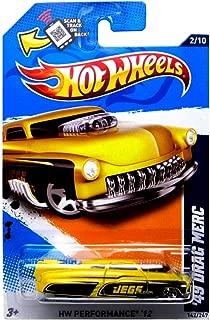 2012 Hot Wheels HW Performance 12 49 Drag Merc 2/10 142/247 Yellow