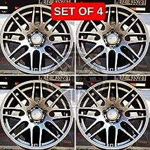 NEW 18 Inch x 8/9 M3 CSL STYLE Staggered Wheels Rims 5 lug Metalic compatible with BMW E36 E46 E90 E92 E93 3 SERIES Set of 4