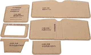 Set di modelli in acrilico, modello di portafogli fatto a mano, strumento fai-da-te, casa della scuola trasparente per par...