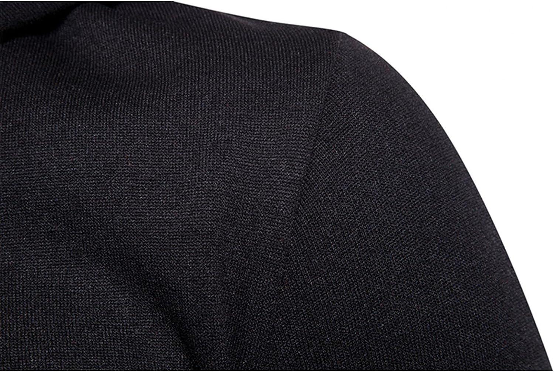Hoodies for Men Men's Autumn Color Matching Block Zipper Long Sleeve Fashion Hooded Jacket Fashion Hoodies Sweatshirts