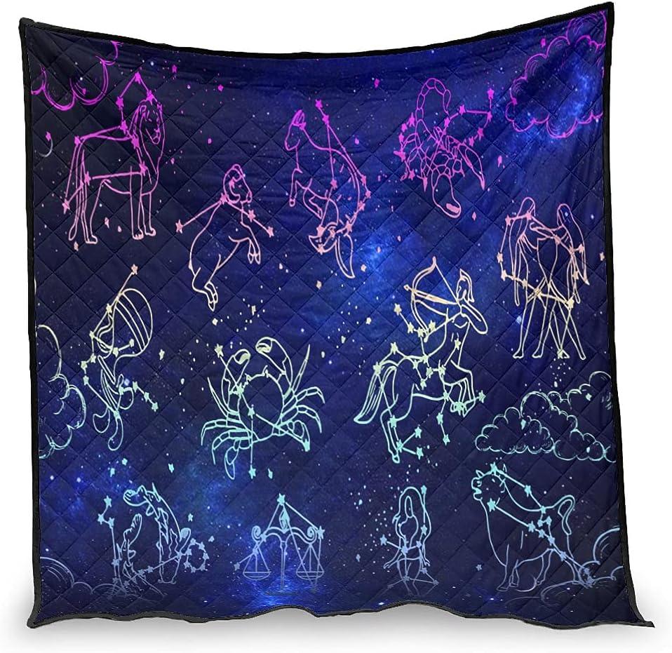 chvcodd Star Constellation Air Arlington Mall Soft Arlington Mall Quilt Comforter Conditioner