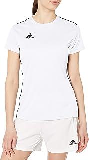 Women's Core 18 AEROREADY Primegreen Regular Fit Soccer Short Sleeve Jersey