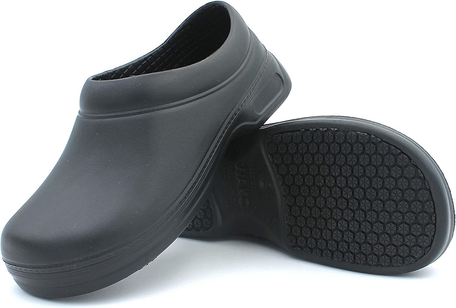 Women's Slip-Resistant Working Clogs Mules Flats shoes Non-Slip Waterproof Oil-Resistant Nurse