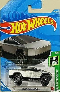 Hot Wheels Tesla Cybertruck, [177/250] Green Speed 3/5