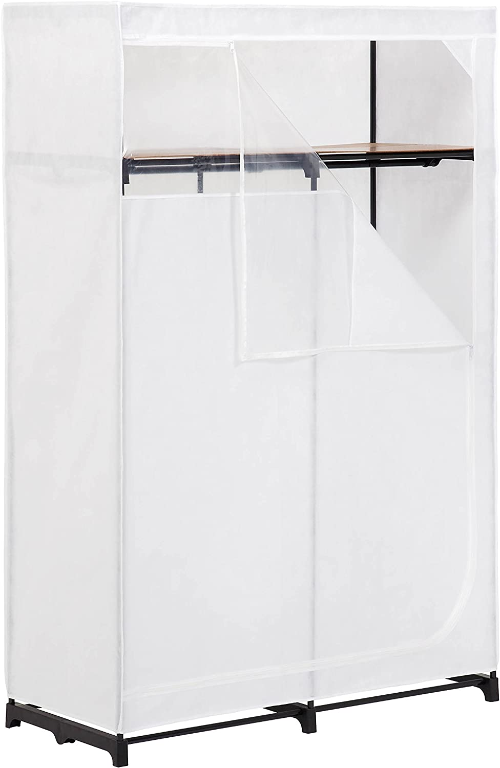 Honey-Can-Do Super sale shopping period limited WRD-01898 46-Inch Portable Storage Clothing Closet