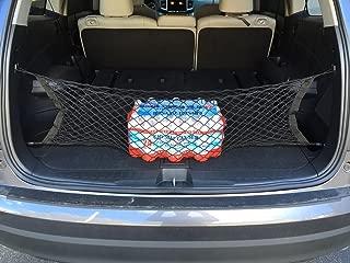 Envelope style trunk cargo net for Honda Pilot 2016 2017 2018 2019