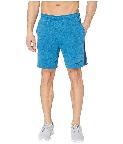 Nike Dry Shorts 5.0 Plus (Blue Void/Laser Blue/Heather/Black) Men