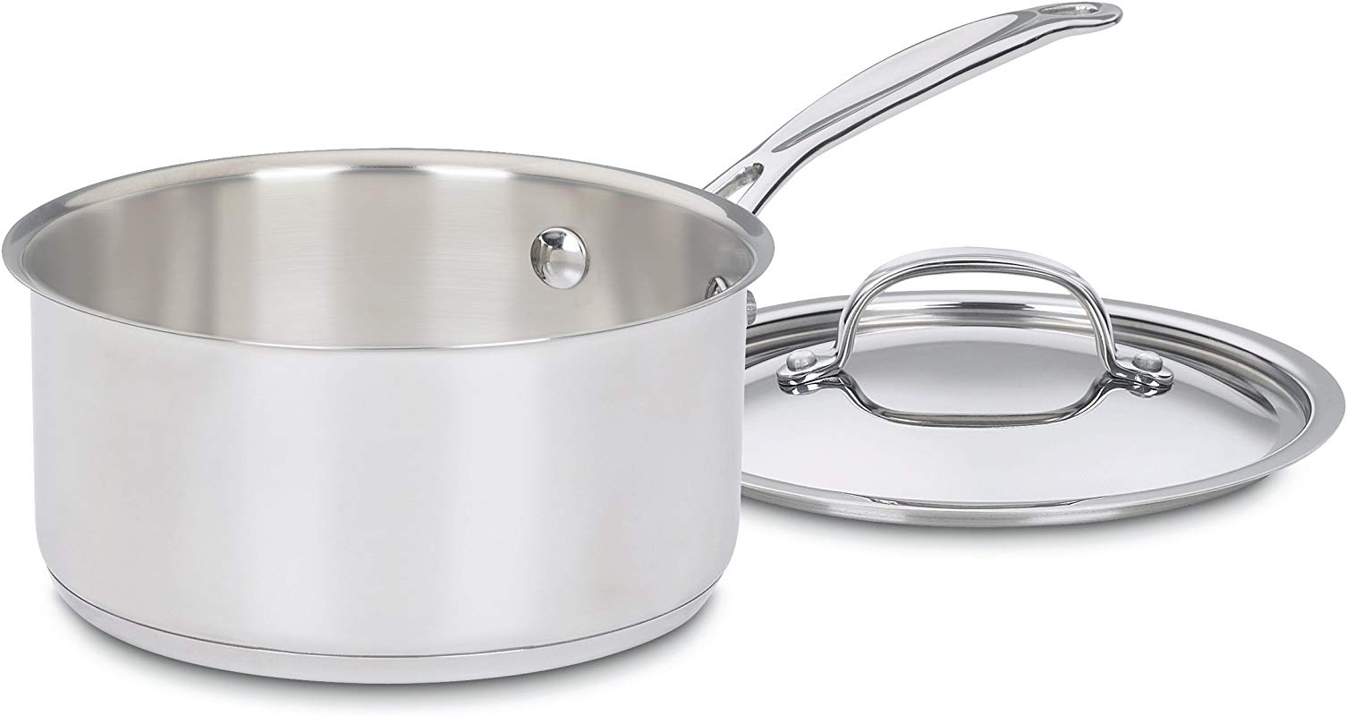 Cuisinart 719 18 Chef S Classic Stainless 2 Quart Saucepan With Cover