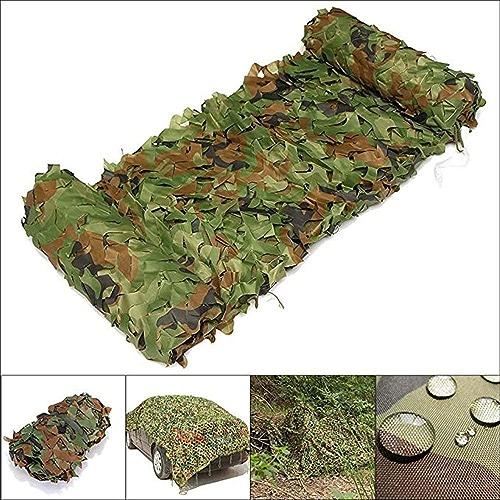 Ljdgr Filet Camo Visière Extérieure GR Filet de Camouflage Jungle Wild vert Décoration Filet de Camouflage (Taille  9x9m) Armée Camo Filet (Taille   8x8m)