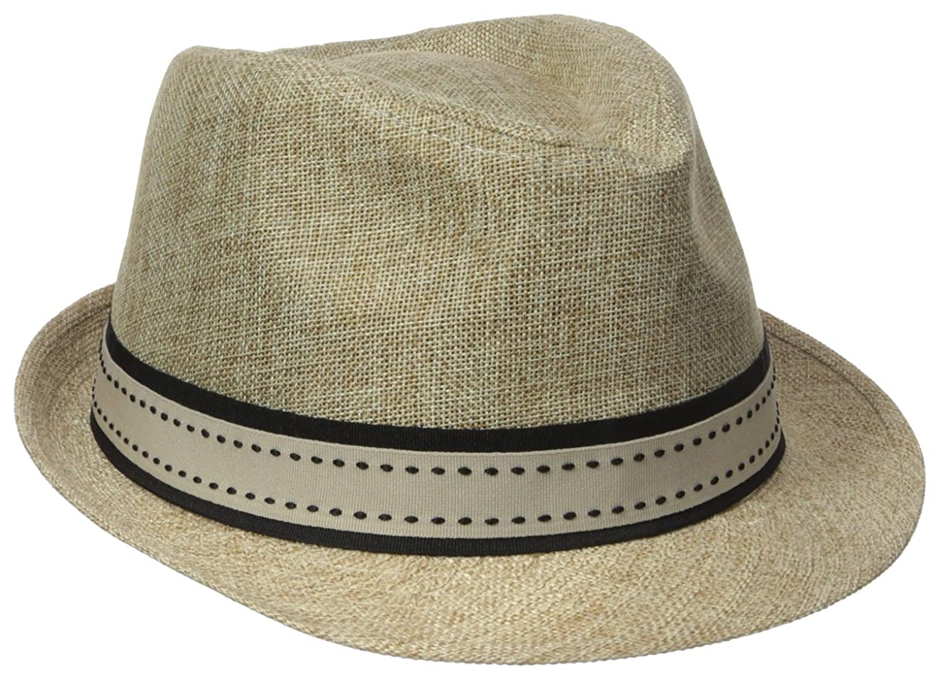 d6d842be6131df ... Henschel Men's Low Crown Fedora with Fancy Stitch Band and Loop