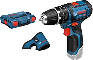 Bosch Professional 12V System GSB 12V-15 C Cordless Combi Drill (Incl. Holster, Without Rechargeable Batteries and Charge...